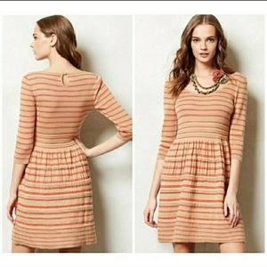 Knitted & Knotted Eloise Striped Dress